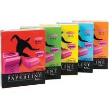 "APP Inkjet, Laser Colored Paper - Red - Letter - 8 1/2"" x 11"" - 20 lb Basis Weight - 500 / Pack"