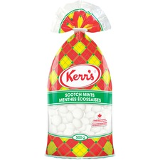 Kerr's Scotch Mints - Peppermint - Peanut-free, Nut-free, Gluten-free, Trans Fat Free, No High Fructose Corn Syrup, No Artificial Flavor - 500 g - 1 Each