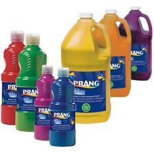 Prang Washable Ready-to-Use Paint - Peach - 946.35 mL - 1 Each - Peach