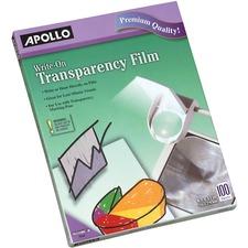 Apollo Transparency Film - 100 / Box