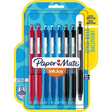 "Paper Mate InkJoyâ""¢ 300 Retractable Ballpoint Pens - 1 mm Pen Point Size - Retractable - Assorted - 1 / Pack"