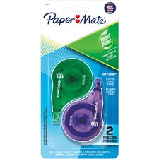 """Paper Mate DryLine Correction Tape - 0.17"""" (4.20 mm) Width x 39.4 ft Length - Tear Proof, Break Resistant, Smooth, Mess-free, Swivel Tip - 1 / Pack"""