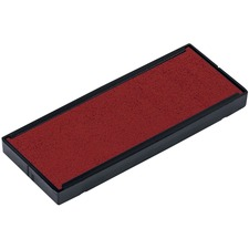 Trodat 4918 Printy Replacement Pad - 1 Pack - Red Ink