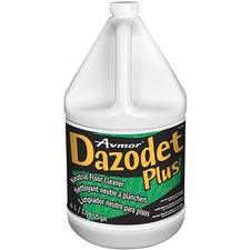 Avmor Dazodet Plus Neutral Floor Cleaner - 135.3 fl oz (4.2 quart) - Peppermint Scent - 1 Each - Green