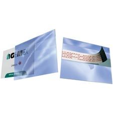 Gemex Badges with Adhesive Strip - Vinyl - 100 / Box