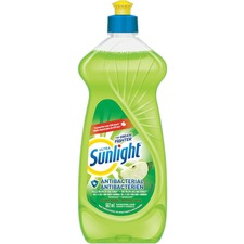 Sunlight Dishwashing Liquid - 19 fl oz (0.6 quart) - Green Apple Scent - 1 Each