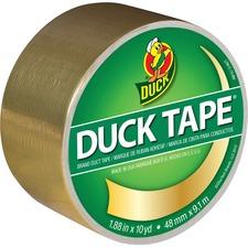 "Duck Coloured Duck Tape - 29.9 ft (9.1 m) Length x 1.89"" (48 mm) Width - 1 Each - Gold"