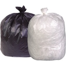 """Inteplast Industrial Garbage Bags 2800 Series - High Density - Frosted - 36"""" (914.40 mm) Width x 50"""" (1270 mm) Length - High Density - Frosted - Resin, High-density Polyethylene (HDPE) - 200/Box - Garbage, Industrial"""