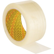 3M Scotch® Packaging Tape - 109.4 yd (100 m) Length - 1 Each - Clear