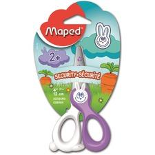 Maped Kidi Cut Scissors - Fiberglass - Assorted - 1 Each