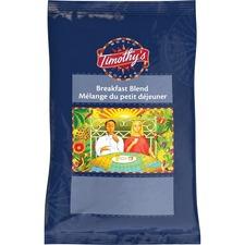 Timothy's Coffee - Breakfast Blend - 2.5 oz Per Pouch - 24 / Box