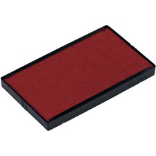 Trodat 6/4926 Replacement Stamp Pad - 1 Each - Red Ink