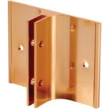 Derome Name Plate Holder - Aluminum - 1 Each - Gold