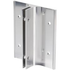 Derome Name Plate Holder - Aluminum - 1 Each - Silver
