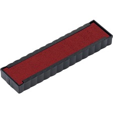 Trodat 6/4916 Replacement Stamp Pad - 1 Each - Red Ink