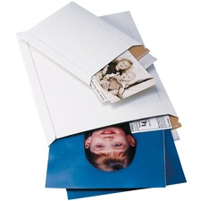 "Crownhill Gator-Pak"" Lite Envelope - 12 1/2"" Width x 9 1/2"" Length - Self-sealing - 1 Each - White"