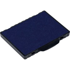 Trodat 6/58 Replacement Stamp Pad - 1 Each - Blue Ink