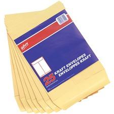 "Hilroy Kraft Envelope - #8 - 13"" Width x 10"" Length - 24 lb - Kraft - 20 / Pack"