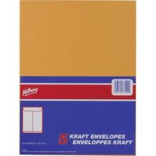 "Hilroy Kraft Envelope - #7 - 12"" Width x 9"" Length - 24 lb - Kraft - 1 / Pack"