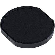 Trodat 6/46145 & 6/46045 Printy Replacement Pad - 1 Each - Black Ink