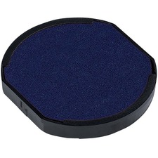 Trodat 6/46145 & 6/46045 Printy Replacement Pad - 1 Each - Blue Ink