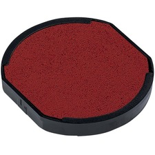Trodat 6/46145 & 6/46045 Printy Replacement Pad - 1 Each - Red Ink