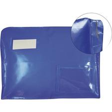 "Winnable Security Bag - 12"" (304.80 mm) Width x 16"" (406.40 mm) Length x 4"" (101.60 mm) Depth - Blue - 1Each"