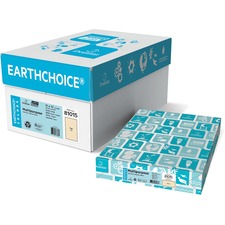 """Domtar EarthChoice Colored Paper - Tan - Tabloid - 11"""" x 17"""" - 20 lb Basis Weight - 500 / Pack"""