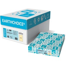 """Domtar EarthChoice Colored Paper - Buff - Tabloid - 11"""" x 17"""" - 20 lb Basis Weight - 500 / Pack"""