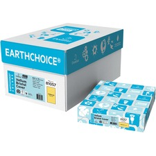 """Domtar EarthChoice Copy & Multipurpose Paper - Goldenrod - Letter - 8 1/2"""" x 11"""" - 65 lb Basis Weight - Vellum - 250 / Pack"""