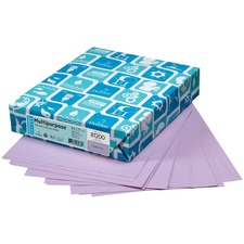 """Domtar EarthChoice Colored Paper - Orchid - Legal - 8 1/2"""" x 14"""" - 20 lb Basis Weight - 500 / Pack"""