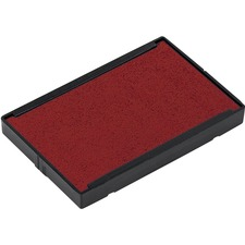 Trodat 4928 Printy Replacement Pad - 1 Pack - Red Ink