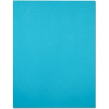 """Domtar EarthChoice Colored Paper - Fluorescent Blue - Letter - 8 1/2"""" x 11"""" - 24 lb Basis Weight - 500 / Pack"""