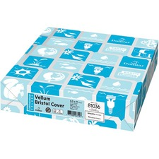 """Domtar EarthChoice Copy & Multipurpose Paper - White - Letter - 8 1/2"""" x 11"""" - 65 lb Basis Weight - Vellum - 250 / Pack"""