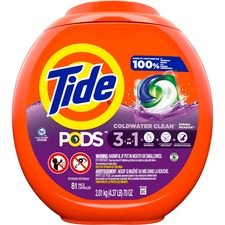 Tide Pods Laundry Detergent Packs - Spring Meadow Scent - 81 / Pack