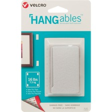 """VELCRO® HANGables™ Removable Wall Fasteners - 3"""" (76.2 mm) Length x 1.75"""" (44.5 mm) Width - 1 / Pack"""