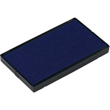 Trodat 6/4926 Replacement Stamp Pad - 1 Each - Blue Ink