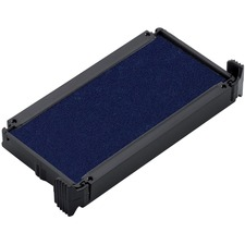 Trodat 6/4912 Replacement Stamp Pad - 1 Each - Blue Ink