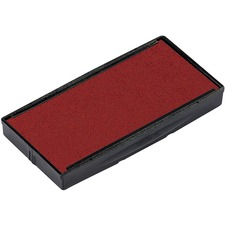 Trodat 6/4913 Replacement Stamp Pad - 2 / Pack - Red Ink