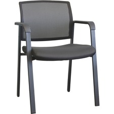 Horizon Activ A-20 Guest Chair - Mesh Fabric Back - Low Back - Four-legged Base - 1 Each