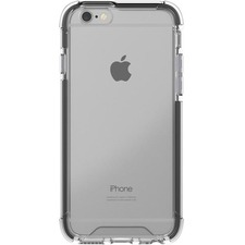 Blu Element DropZone Rugged Case Black for iPhone SE 2020/8/7 - For Apple iPhone 6, iPhone 6s, iPhone 7, iPhone 8, iPhone SE 2 Smartphone - Black, Clear - Scratch Resistant, Impact Resistant, Shock Absorbing, Anti-scratch, Drop Resistant - Polycarbonate, Thermoplastic Polyurethane (TPU) - 1