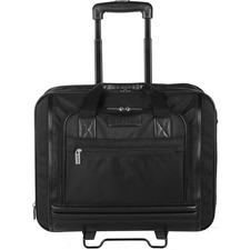 """bugatti Carrying Case (Briefcase) for 17.3"""" Wheel, Notebook - Black - Ballistic Nylon - 14"""" (355.60 mm) Height x 17"""" (431.80 mm) Width x 9"""" (228.60 mm) Depth - 1 Pack"""
