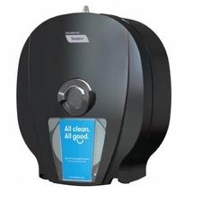 "Cascades X4 High-Capacity Bath Tissue Dispenser, 15 7/16""H x 6 5/8"" x 13 5/8""D, Black - Roll Dispenser - 4 x Roll - 15.44"" (392.11 mm) Height x 6.63"" (168.28 mm) Width x 13.63"" (346.08 mm) Depth - Plastic - Black - Durable"