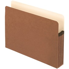 """Pendaflex EarthWise Legal Recycled Expanding File - 8 1/2"""" x 14"""" - 3 1/2"""" Expansion - Redrope - 1 Each"""