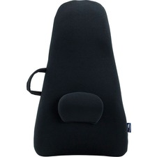 HoMedics Highback Backrest Support - Black - Polyurethane Foam