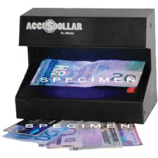 Accudollar PL-9 Counterfeit Detector - Ultraviolet - 1 Each
