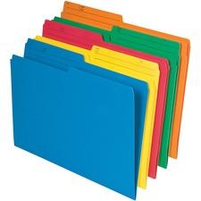 "Pendaflex 1/2 Tab Cut Legal Top Tab File Folder - 8 1/2"" x 14"" - Assorted - 25 / Pack"