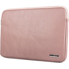 """bugatti Carrying Case (Sleeve) for 14"""" Notebook - Pink - Vegan Leather - 14.25"""" (361.95 mm) Height x 10.50"""" (266.70 mm) Width x 0.75"""" (19.05 mm) Depth - 1 Pack"""