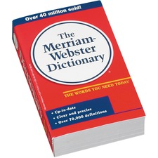 Merriam-Webster The New Merriam-Webster English Dictionary Printed Book - Book - English