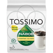 Elco Tassimo Pods Nabob Breakfast Coffee Singles Pod - Compatible with Tassimo Brewer - Breakfast Blend - 14